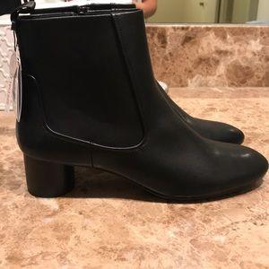 Zara Round Heel Booties